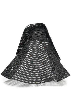 MISSONI Bead-embellished straw sunhat