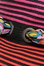 MISSONI MARE Embellished striped raffia sun hat