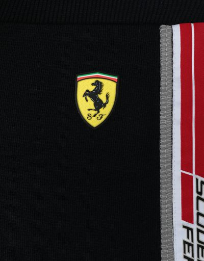 Scuderia Ferrari Online Store - Infant's shorts in French Terry with Icon Tape - Shorts
