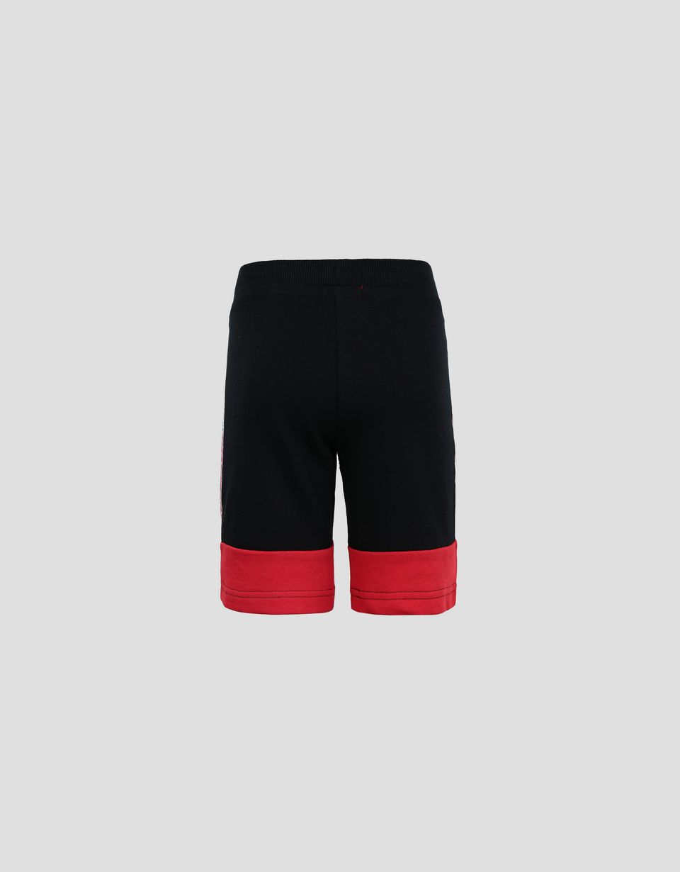 Scuderia Ferrari Online Store - Shorts bambino in French Terry con Icon Tape - Shorts