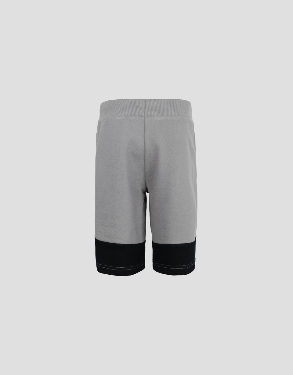Scuderia Ferrari Online Store - Jungen-Shorts aus French Terry mit <i>Icon Tape</i> - Shorts