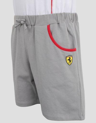 Scuderia Ferrari Online Store - 少女闪片印纹连身装 - 连身裤
