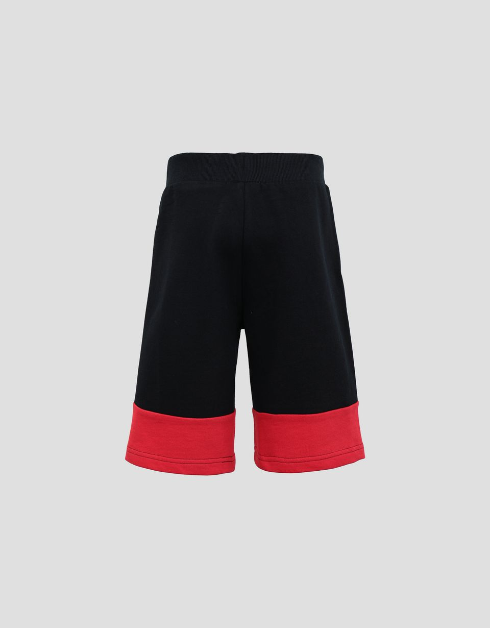 Scuderia Ferrari Online Store - Jungen-Shorts aus French Terry mit Icon Tape - Shorts