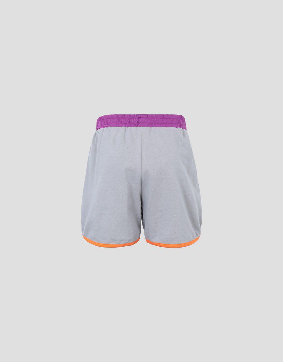 Scuderia Ferrari Online Store - Mädchen-Shorts aus Jersey mit Kontrastprofilen - Shorts