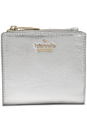 KATE SPADE New York Highland Drive Adalyn metallic faux leather wallet