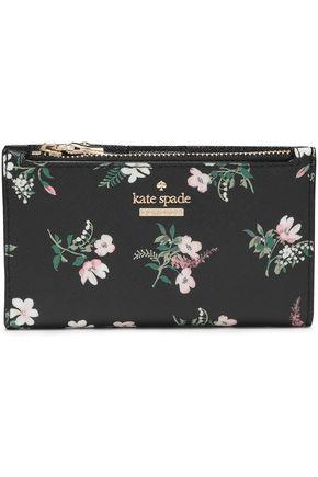 KATE SPADE New York Cameron Street Flora Mikey floral-print PVC wallet
