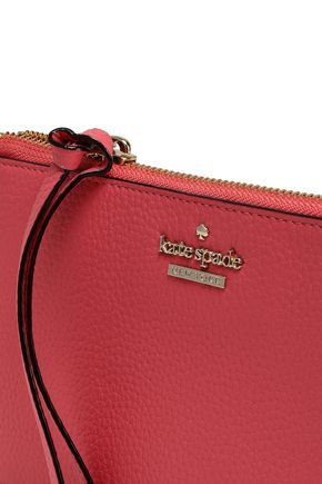 KATE SPADE New York Textured-leather wallet
