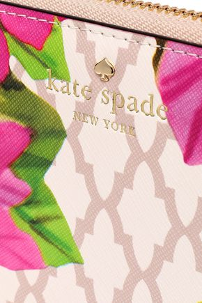 KATE SPADE New York Bayard Place Lacey faux leather continental wallet