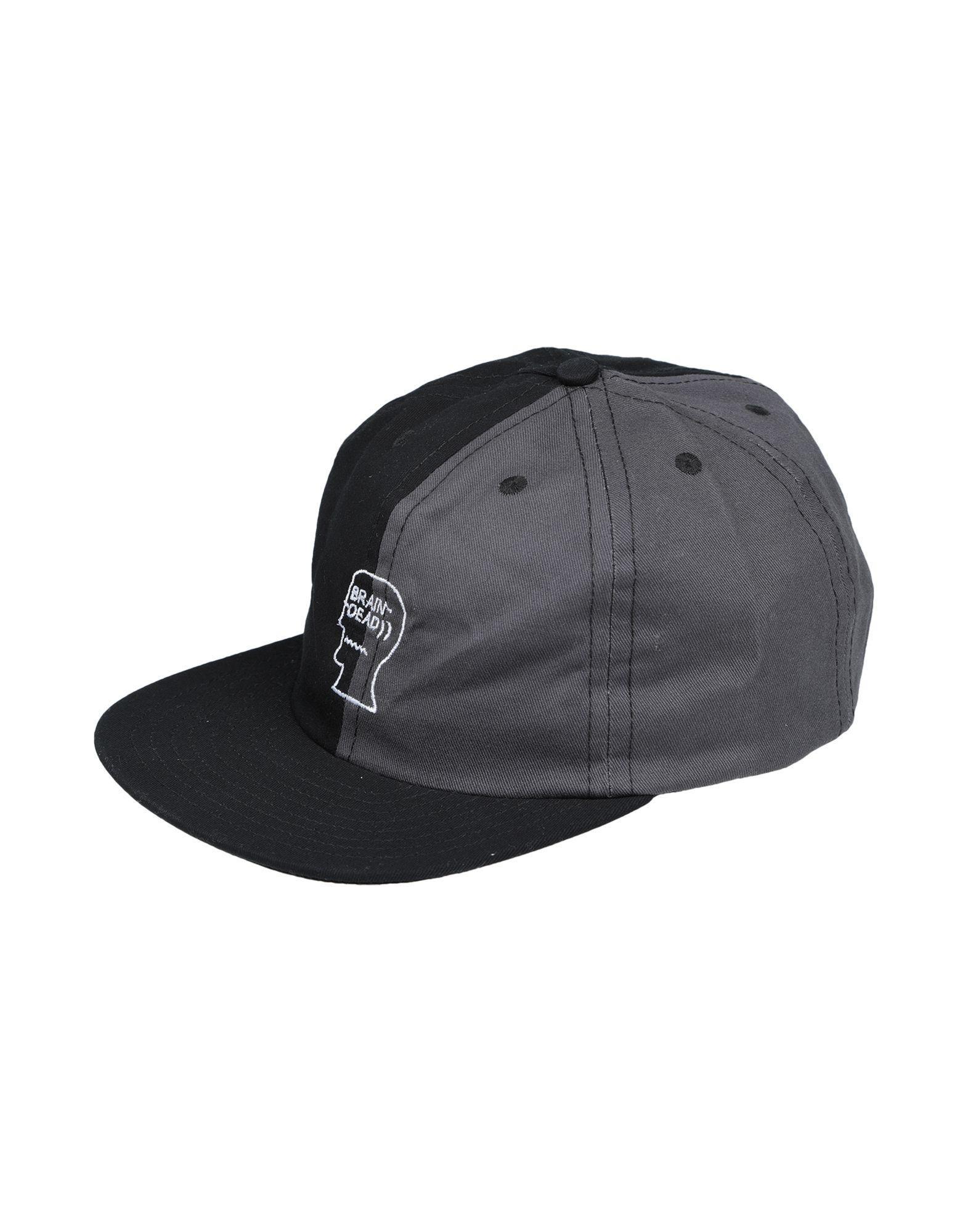 《送料無料》BRAIN DEAD メンズ 帽子 ブラック one size コットン 100%