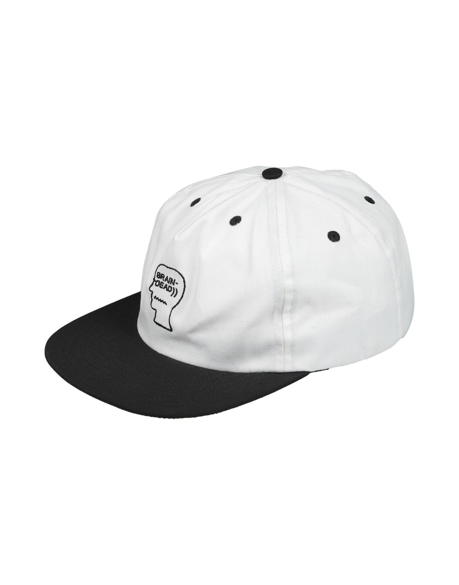 《送料無料》BRAIN DEAD メンズ 帽子 ホワイト one size コットン 100%