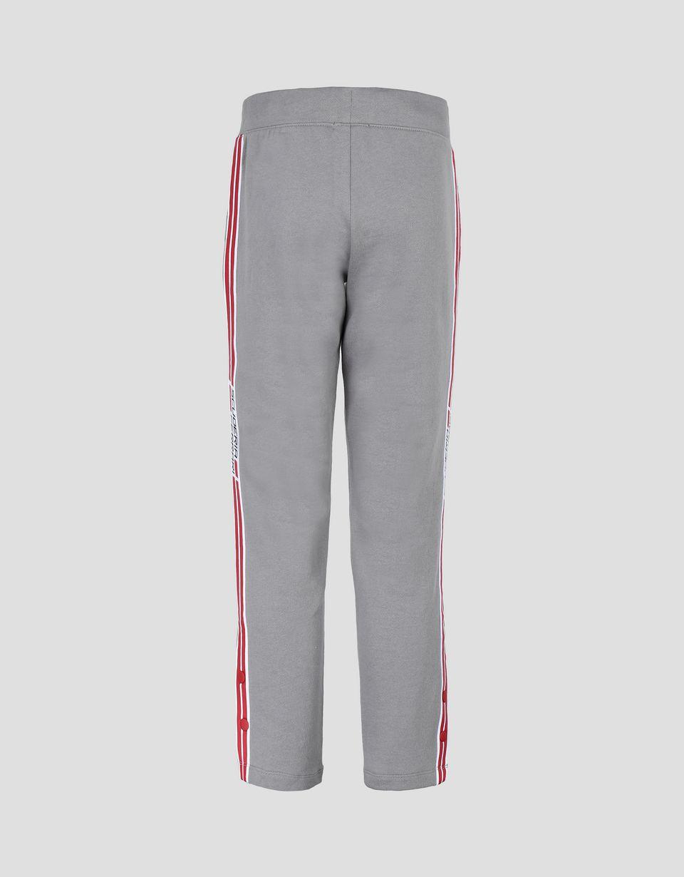 Scuderia Ferrari Online Store - Unisex children's joggers with Scuderia Ferrari <i>Icon Tape</i> - Joggers