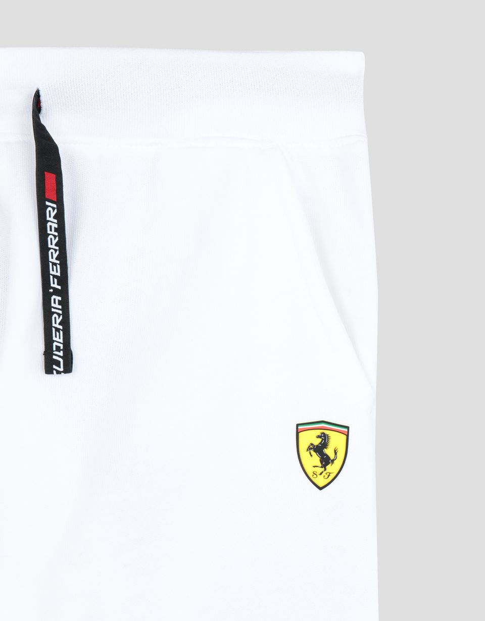 Scuderia Ferrari Online Store - Boy's and girl's joggers with Scuderia Ferrari Icon Tape -