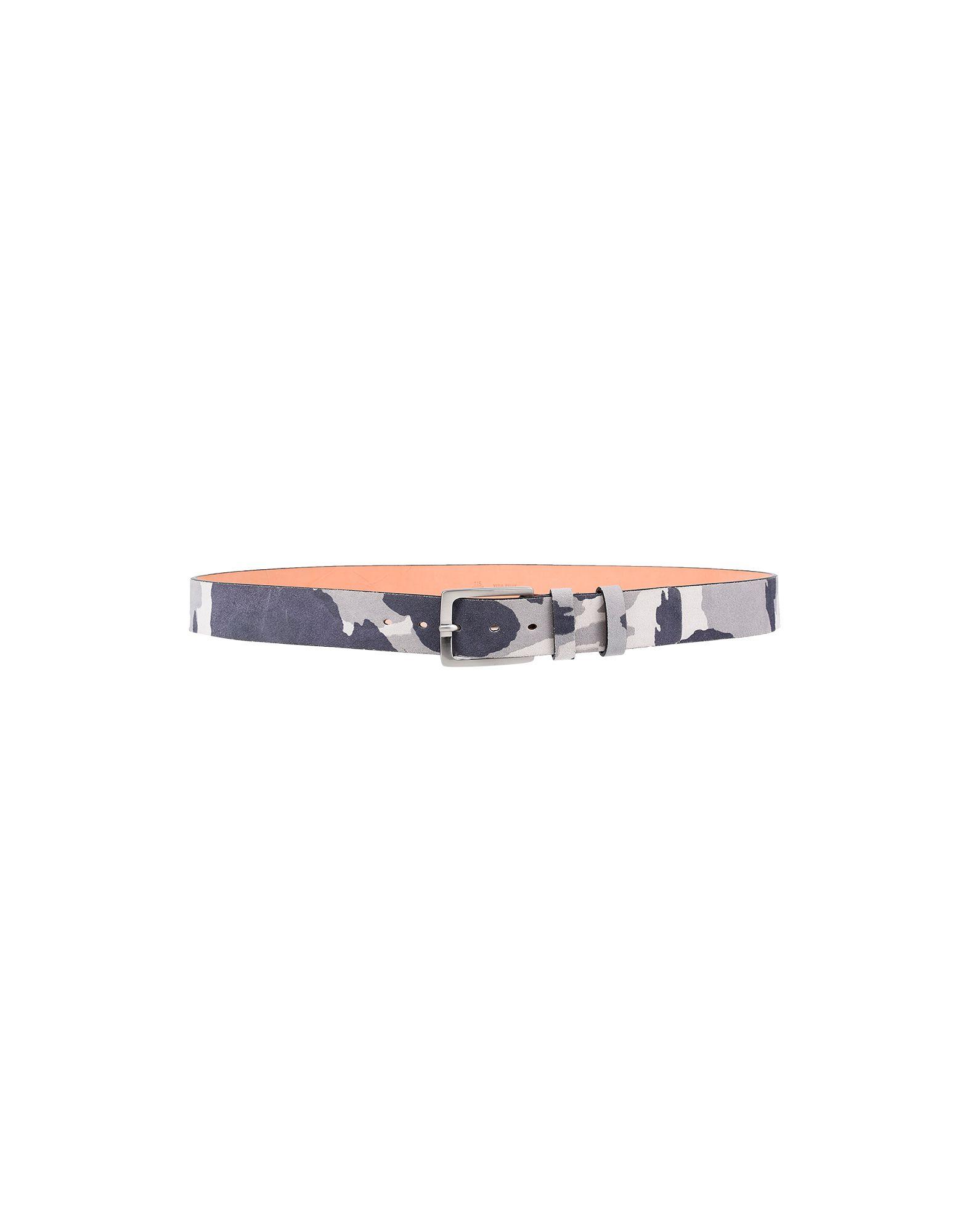 《期間限定セール中》G & B,NEGOZIO メンズ ベルト グレー 105 革