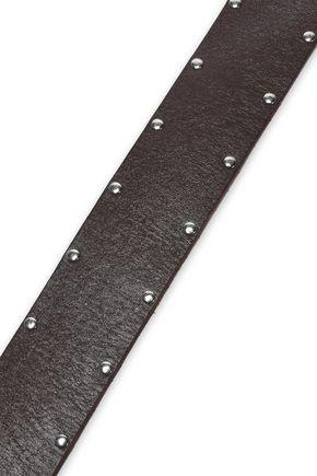 FRAME Studded leather belt
