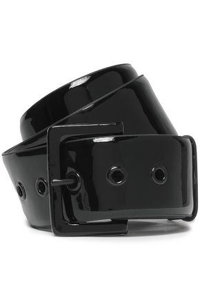 FRAME Patent-leather belt