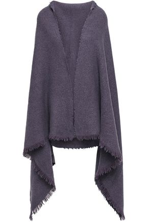 RICK OWENS Brenda fringed felt scarf