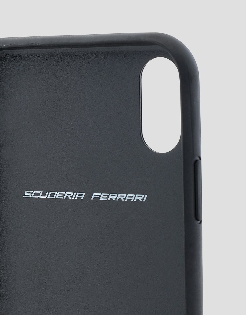 Scuderia Ferrari Online Store - Red soft touch rubber hard case for iPhone XR - Smartphone Accessories