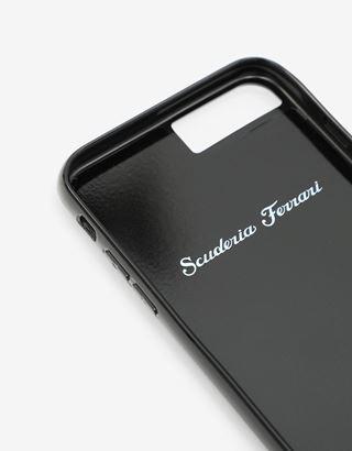 Scuderia Ferrari Online Store - iPhone 8 Plus 黑色碳纤维正品手机壳 - 智能手机配饰