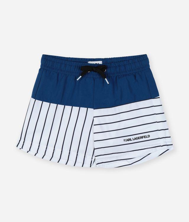 Karl Lagerfeld - Short de bain color-block - 1