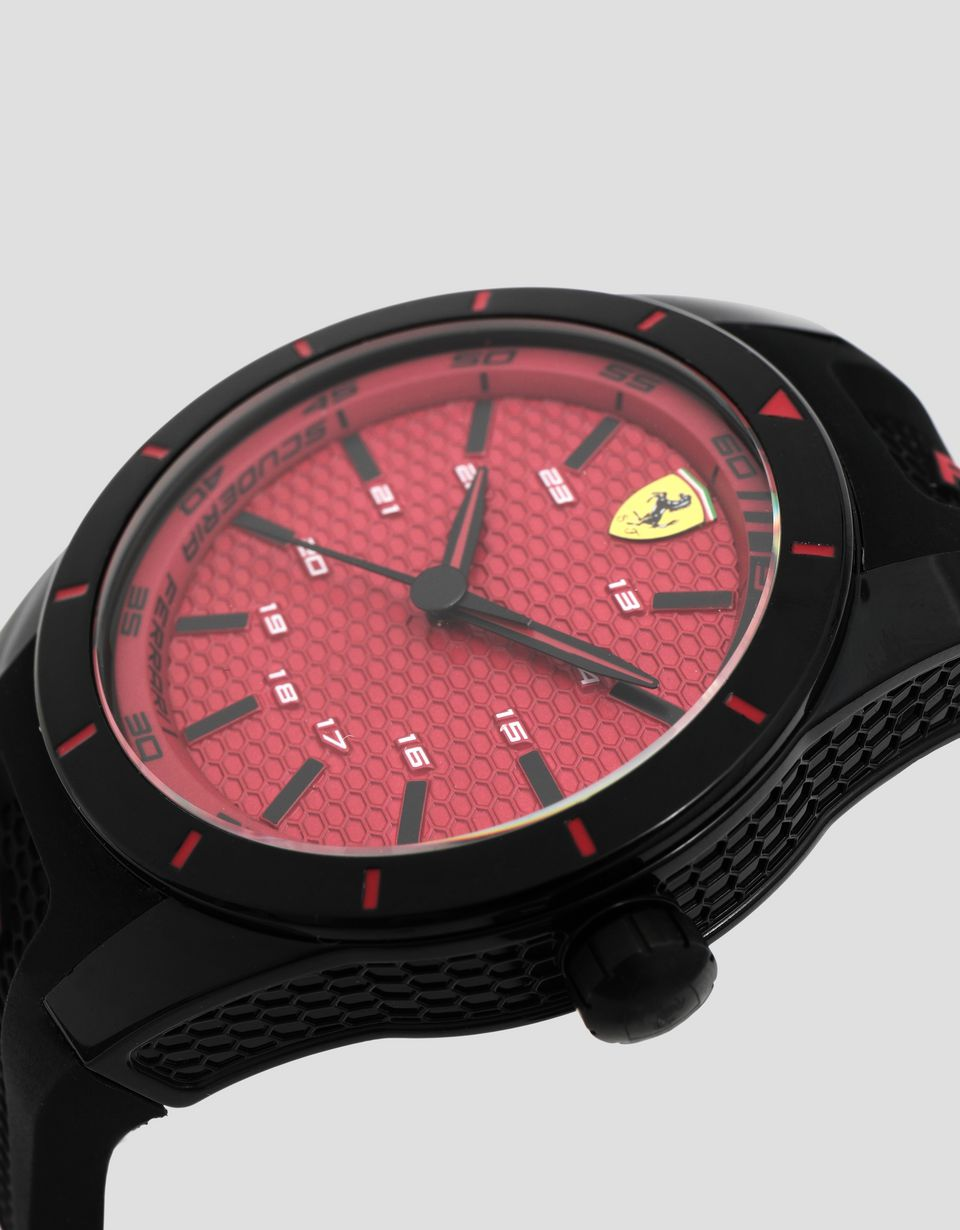 Scuderia Ferrari Online Store - Set of 2 Multisize Scuderia Ferrari RedRev watches - Quartz Watches