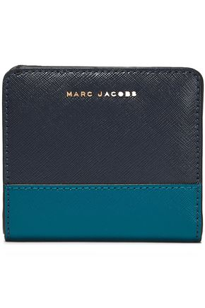 MARC JACOBS Color-block leather wallet