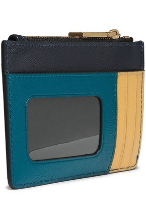MARC JACOBS Color-block leather wallet