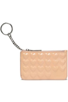 MARC JACOBS Glossed-leather key wallet