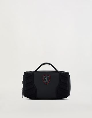 Scuderia Ferrari Online Store - Men's Hyperformula toiletry case with padded inserts - Toiletry Bags