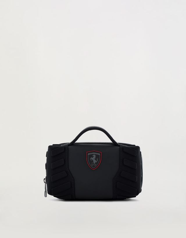 dcd0ba8df272 Scuderia Ferrari Online Store - Men s Hyperformula toiletry case with  padded inserts - Toiletry Bags ...