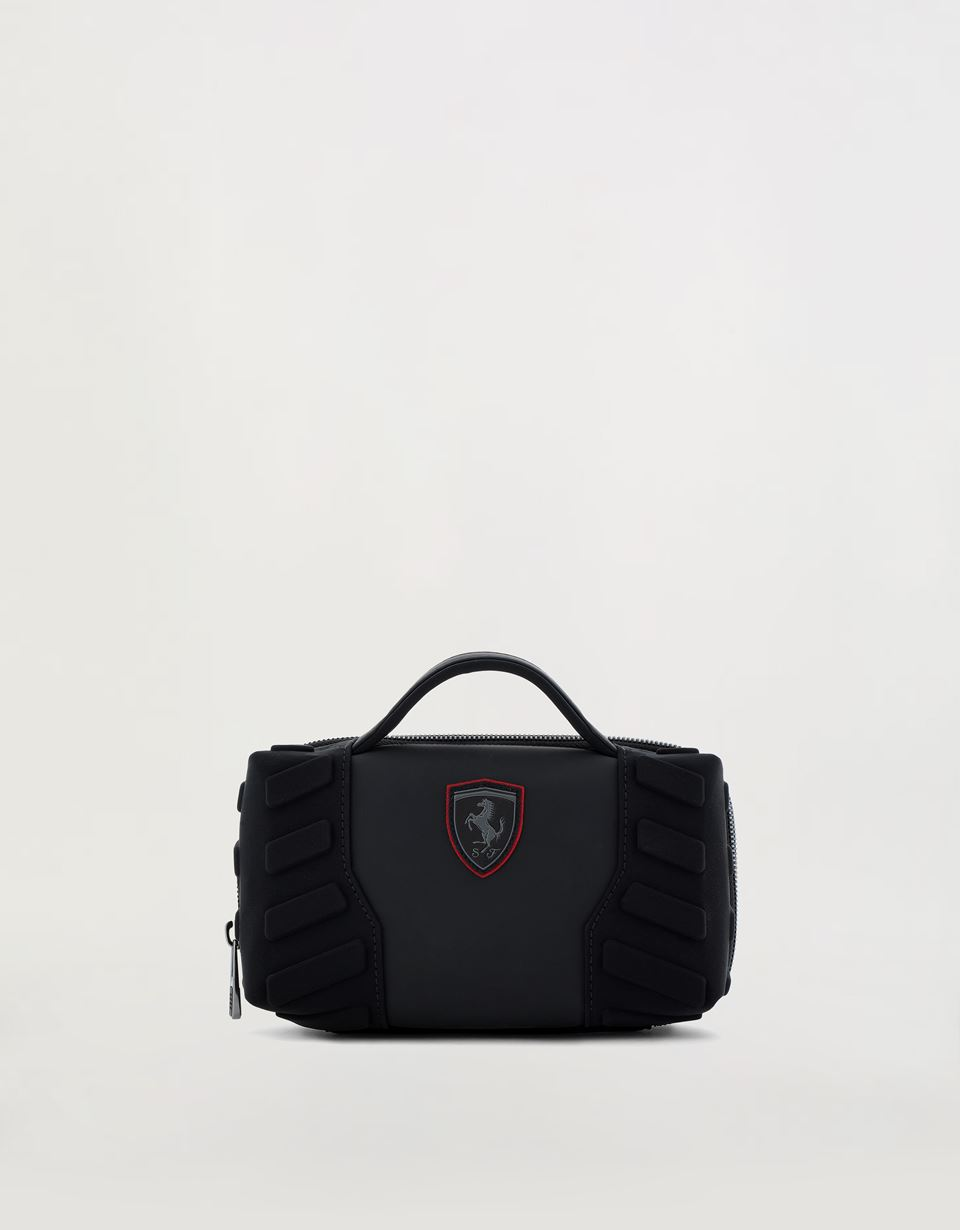 Scuderia Ferrari Online Store - Hyperformula men's toiletry case with embossed inserts -
