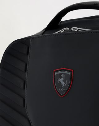 Scuderia Ferrari Online Store - Men's technical fabric Hyperformula backpack with padded inserts - Regular Rucksacks