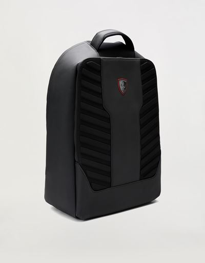 Scuderia Ferrari Online Store - Men's Hyperformula backpack in technical fabric with padded inserts - Regular Rucksacks