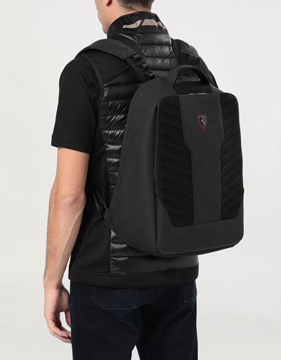 Men's technical fabric Hyperformula backpack with padded inserts