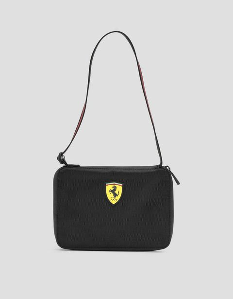 Livery pattern zipper clutch