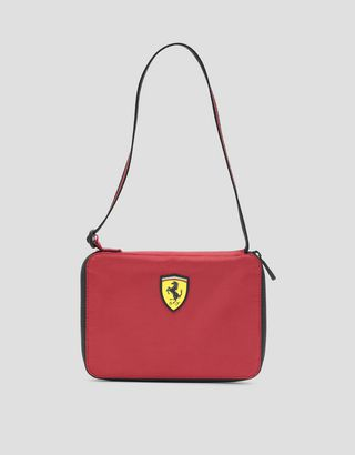 Scuderia Ferrari Online Store - Clutch with zipper and adjustable shoulder strap - Pouches & Envelopes