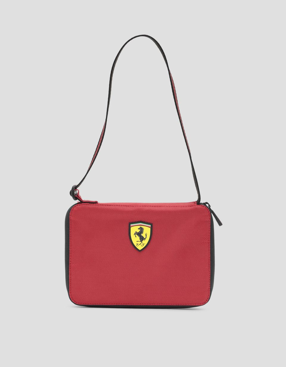 Scuderia Ferrari Online Store - Livery pattern zipper clutch - Pouches & Envelopes