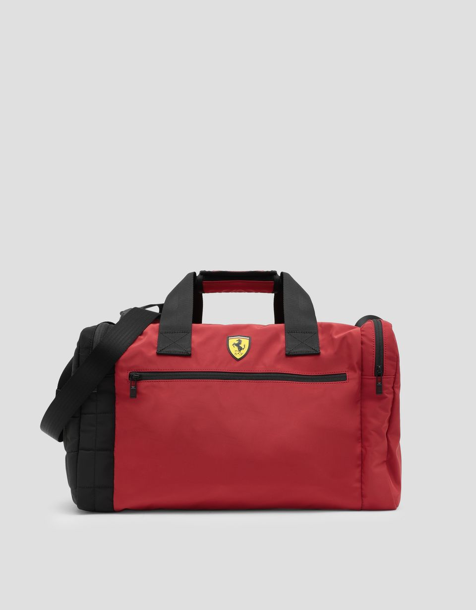 Scuderia Ferrari Online Store - Two-color bag with Shield - Duffle Bags