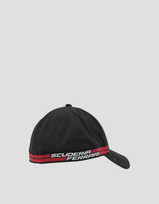 Scuderia Ferrari Online Store - Мужская бейсболка с перфорированным козырьком - Бейсболки