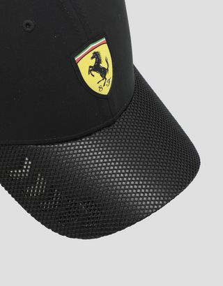 Scuderia Ferrari Online Store - Men's hat with perforated visor - Baseball Caps