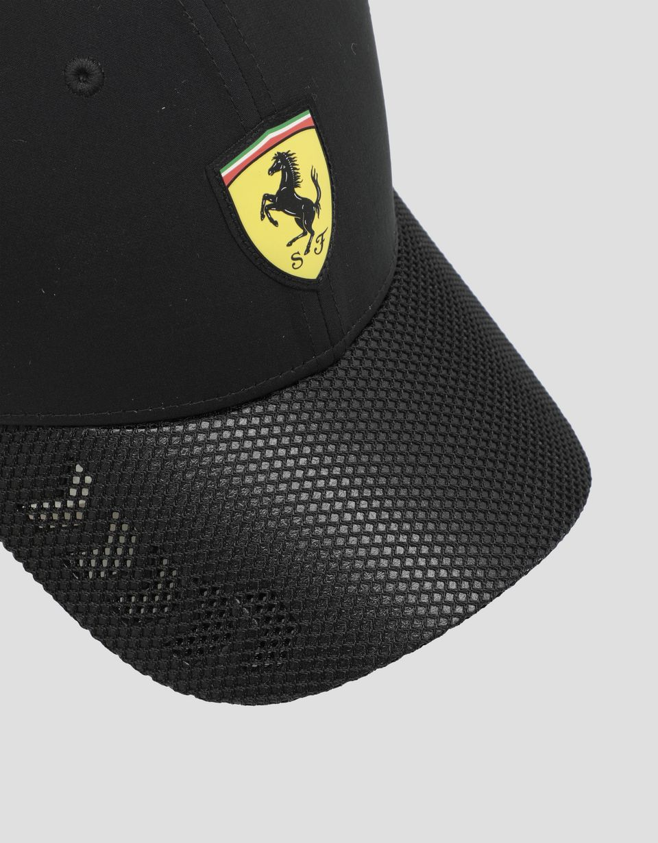 Scuderia Ferrari Online Store - Men's cap with perforated visor - Baseball Caps
