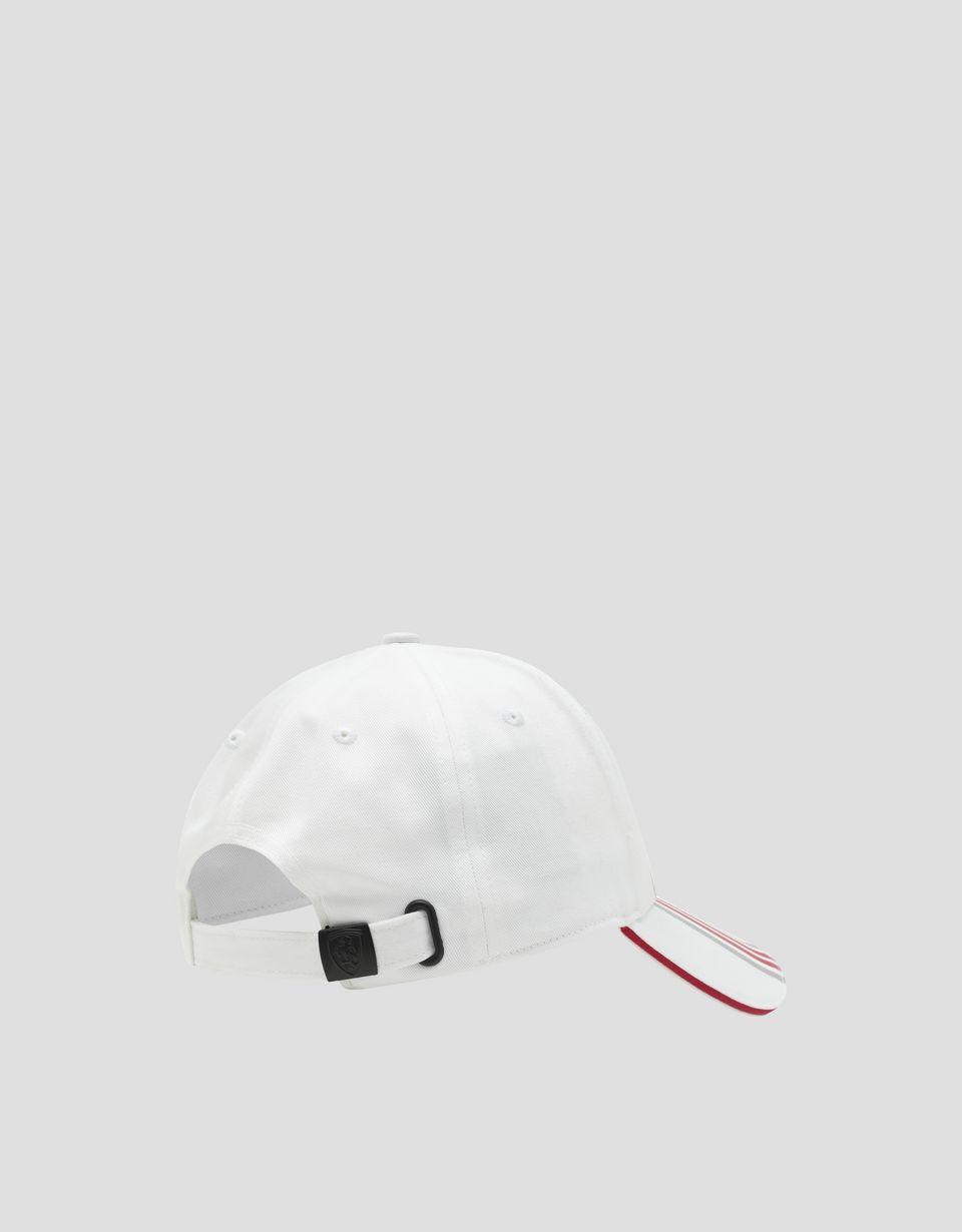 Scuderia Ferrari Online Store - Cappellino bambino in cotone con Icon Tape - Cappellini da Baseball