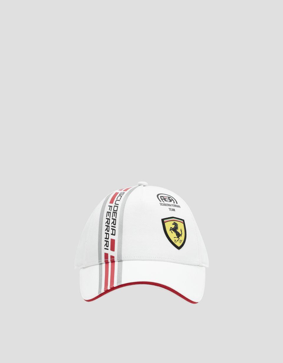 Scuderia Ferrari Online Store - キッズ用 コットン製キャップ アイコンテープ付き - ベースボールキャップ