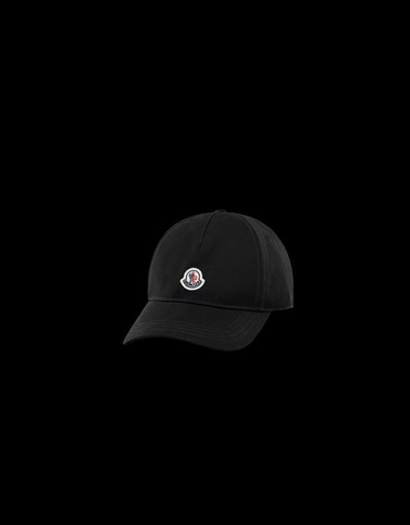 BASEBALL HAT Black Category Hats Woman