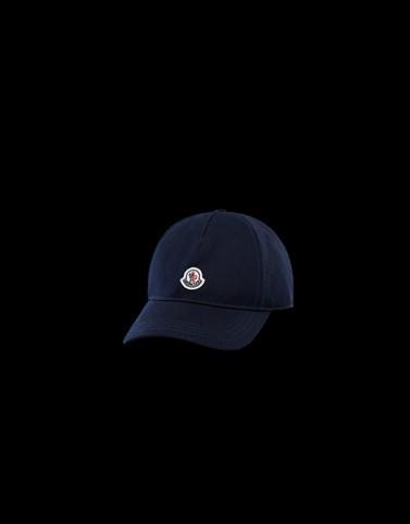 CAPPELLO BASEBALL Colore Blu scuro Categoria Cappelli Donna