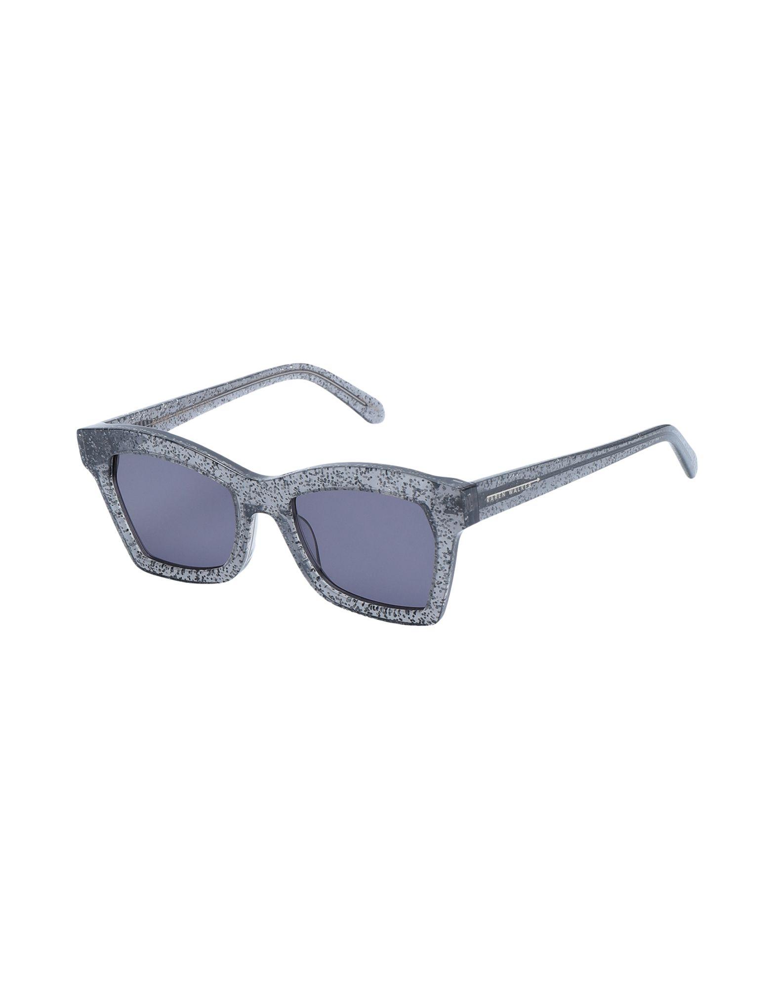 KAREN WALKER Солнечные очки бусины monisto стекло кошачий глаз круглые 4мм оранжевый около 66шт нить 14z7738
