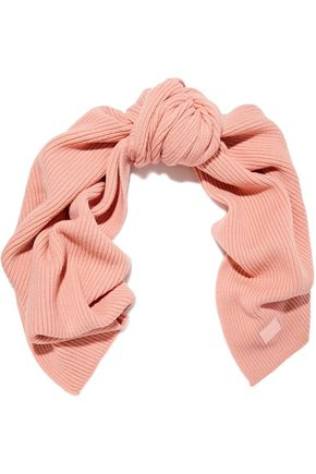 ACNE STUDIOS Bansy Face ribbed wool scarf