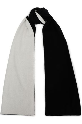 RAG & BONE Two-tone cashmere scarf