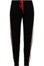 CHINTI AND PARKER Intarsia-knit cashmere and wool-blend track pants