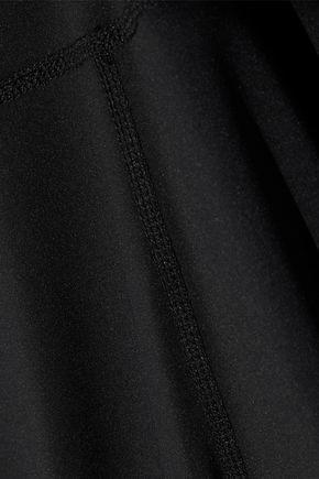 IRIS & INK Mesh-paneled stretch leggings