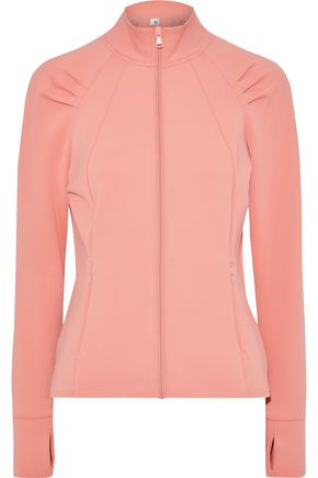 IRIS & INK Pleated scuba track jacket